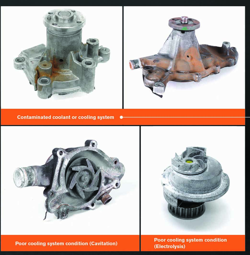 Success in Cooling – Engine water pumps
